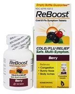 BHI/Heel - Reboost Cold & Flu Relief - 100 Tablets by BHI/Heel