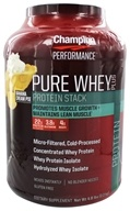 Image of Champion Nutrition - Pure Whey Protein Stack Banana Cream Pie - 4.8 lbs.