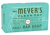 Mrs. Meyer's - Clean Day Daily Bar Soap Basil - 5.3 oz. (808124141650)