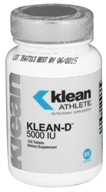 Douglas Laboratories - Klean Athlete Klean-D 5000 IU - 100 Tablets (310539039021)