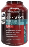 Champion Nutrition - Pure Whey Protein Stack Cookies & Cream - 4.8 lbs.