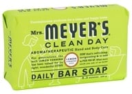 Image of Mrs. Meyer's - Clean Day Daily Bar Soap Lemon Verbena - 5.3 oz.