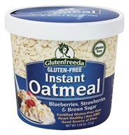 Glutenfreeda - Instant Oatmeal Cup Blueberries, Strawberries & Brown Sugar - 2.64 oz. (858246001752)