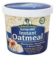 Glutenfreeda - Instant Oatmeal Cup Blueberries, Strawberries & Brown Sugar - 2.64 oz., from category: Health Foods