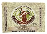 Tierra Mia Organics - Raw Goat Milk Skin Therapy Body Soap Bar Vanilla - 4.2 oz.