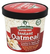 Glutenfreeda - Instant Oatmeal Cup Cranberry Apple with Walnuts & Cinnamon - 2.64 oz.