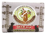 Tierra Mia Organics - Raw Goat Milk Skin Therapy Pet Soap Bar Sham-Pup - 4.2 oz.