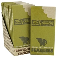 Fearless Chocolate - Organic Superchocolate Bar 70% Super Seeds Crunch - 2 oz. - $4.89