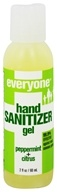 Image of EO Products - Everyone Hand Sanitizer Gel Peppermint + Citrus - 2 oz.