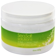 clariSEA - SeaSalt Solutions Tone Correcting Clarifying Soak for the Face - 15 oz.