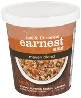 Earnest Eats - Hot and Fit Cereal Mayan Blend - 2.35 oz., from category: Health Foods