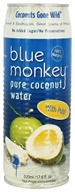 Blue Monkey - 100% Pure Coconut Water with Pulp - 17.6 oz., from category: Health Foods