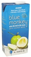 Blue Monkey - 100% Pure Coconut Water - 1 Liter