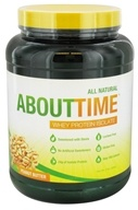 About Time - Whey Protein Isolate Peanut Butter - 2 lbs. (013964521702)