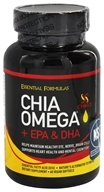 Image of Essential Formulas - Chia Omega + EPA & DHA - 60 Vegan Softgels