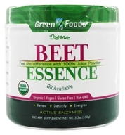 Green Foods - Organic Gluten Free Beet Essence - 5.3 oz. by Green Foods