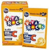 Image of To Go Brands - Healthy To Go Vita Rocks C for Kids Orange Burst 250 mg. - 14 Packet(s)