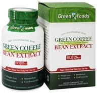 Image of Green Foods - Green Coffee Bean Extract - 120 Vegetarian Capsules