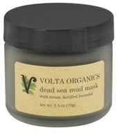 Volta Organics - Dead Sea Mud Facial Mask - 2.5 oz. by Volta Organics