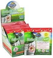 Image of Garden of Life - Perfect Food Raw 100% Organic Green Superfood Apple - 15 x 8g Packets