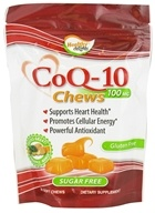 Image of Healthy Natural Systems - CoQ-10 Chews Pineapple-Mango 100 mg. - 30 Count