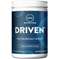 Image of MRM - Driven 100% All Natural Pre-Workout Boost Mixed Berries - 12.3 oz.