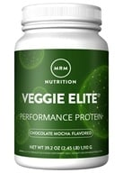 MRM - Veggie Elite All Natural Performance Protein Chocolate Mocha - 2.4 lbs., from category: Sports Nutrition