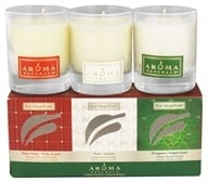 Image of Aroma Naturals - Holiday Soy VegePure Glass Votive Set - 3 Piece(s)
