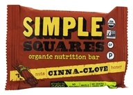Simple Squares - Whole Food Snack Bar Cinnamon Clove - 1.6 oz. (855325002068)