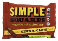 Simple Squares - Whole Food Snack Bar Cinnamon Clove - 1.6 oz., from category: Nutritional Bars