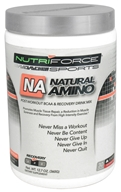 NutriForce Sports - Natural Amino Post-Workout BCAA Recovery Drink Mix Watermelon - 12.7 oz. (755244017078)