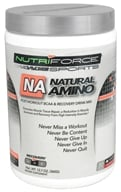 NutriForce Sports - Natural Amino Post-Workout BCAA Recovery Drink Mix Watermelon - 12.7 oz. by NutriForce Sports
