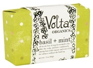 Volta Organics - Hair + Face Soap Bar Basil + Mint - 3 oz. by Volta Organics