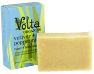 Volta Organics - Hand + Body Soap Bar Vetiver + Peppermint - 3.3 oz.