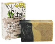 Volta Organics - Hand + Body Soap Bar Vanilla + Black Pepper - 3.3 oz. by Volta Organics