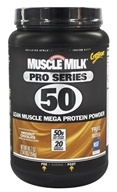 Cytosport - Muscle Milk Pro Series 50 Knockout Chocolate - 2.54 lbs.
