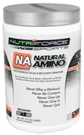 Image of NutriForce Sports - Natural Amino Post Workout BCAA Recovery Drink Mix Fruit Punch - 12.7 oz.