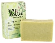 Volta Organics - Hand + Body Soap Bar Mint + Lime - 3.3 oz. (738435239619)