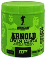 Muscle Pharm - Arnold Schwarzenegger Series Arnold Iron CRE3 Fruit Punch - 4.34 oz., from category: Sports Nutrition