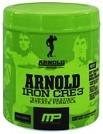 Muscle Pharm - Arnold Schwarzenegger Series Arnold Iron CRE3 Fruit Punch - 4.34 oz. by Muscle Pharm