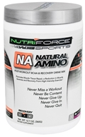 NutriForce Sports - Natural Amino Post Workout BCAA Recovery Drink Mix Grape - 12.7 oz.