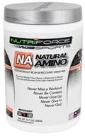 NutriForce Sports - Natural Amino Post Workout BCAA Recovery Drink Mix Grape - 12.7 oz. - $28.99
