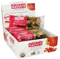 Taste of Nature - Organic Fruit and Nut Bar Persian Pomegranate Garden - 1.4 oz. - $1.79