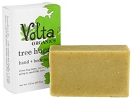 Volta Organics - Hand + Body Soap Bar Tree Hugger - 3.3 oz. by Volta Organics