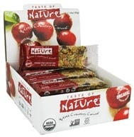 Taste of Nature - Organic Fruit and Nut Bar Quebec Cranberry Carnival - 1.4 oz. (059527300032)