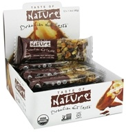 Taste of Nature - Organic Fruit and Nut Bar Brazilian Nut Fiesta - 1.4 oz., from category: Nutritional Bars