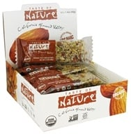 Taste of Nature - Organic Fruit and Nut Bar California Almond Valley - 1.4 oz. (059527300025)