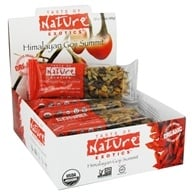 Taste of Nature - Organic Fruit and Nut Bar Himalayan Goji Summit - 1.4 oz., from category: Nutritional Bars