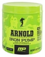 Muscle Pharm - Arnold Schwarzenegger Series Arnold Iron Pump Fruit Punch - 6.35 oz. by Muscle Pharm