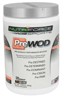NutriForce Sports - PreWod Pre-Workout Performance Booster Grape - 13.83 oz. LUCKY PRICE by NutriForce Sports